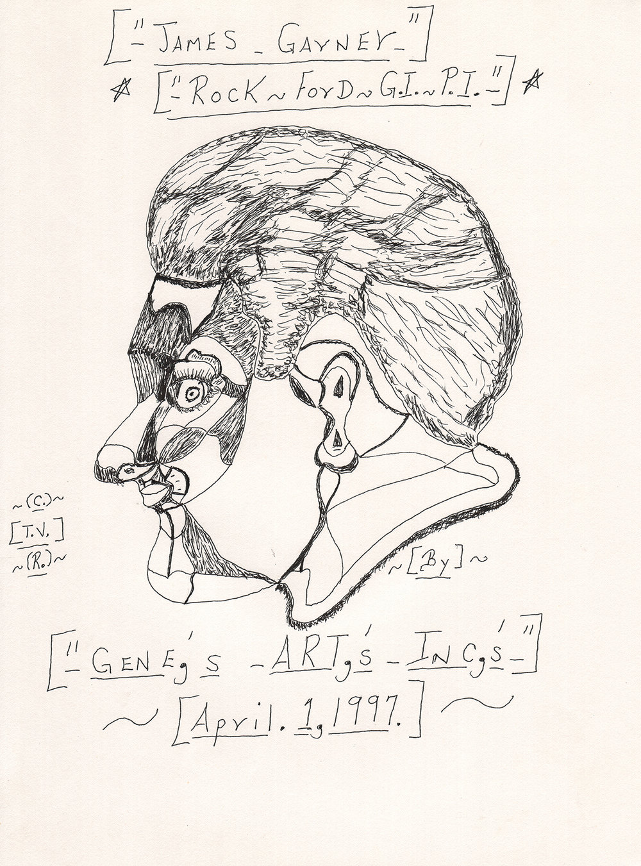 James Garner by Gene Merritt