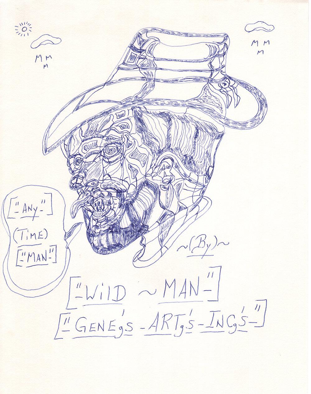 Wild Man by Gene Merritt