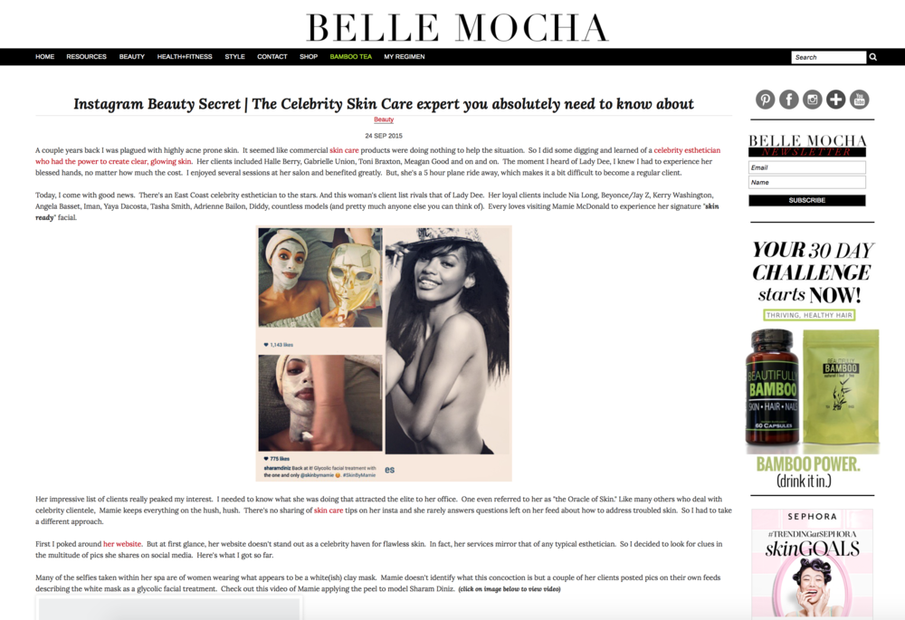 Press: Belle Mocha Featuring: Sharam Dintz