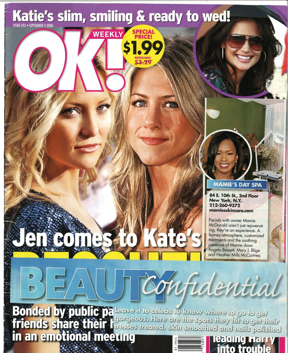 Press: Ok Magazine Featuring: Mamie