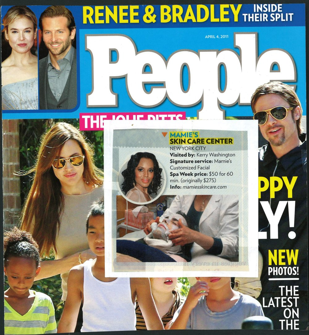 Press: People Magazine   Featuring: Mamie