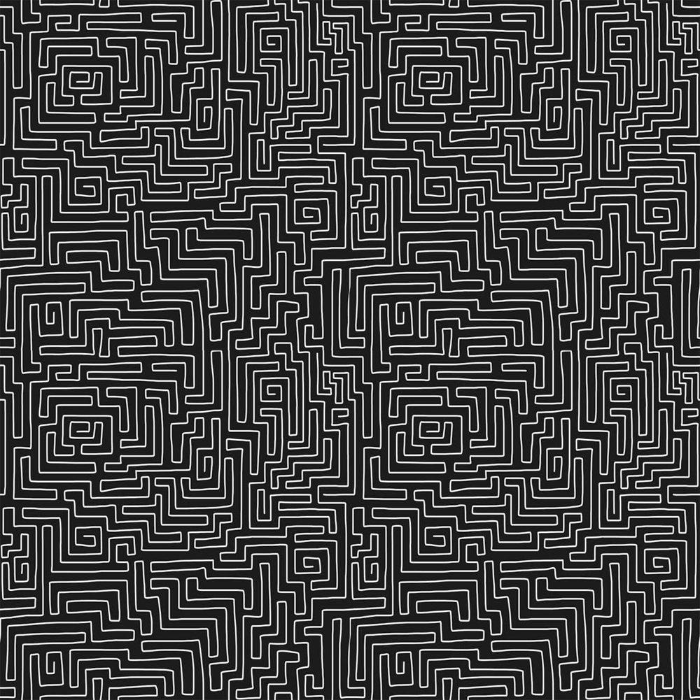 The bra by Meer: Print - Maze