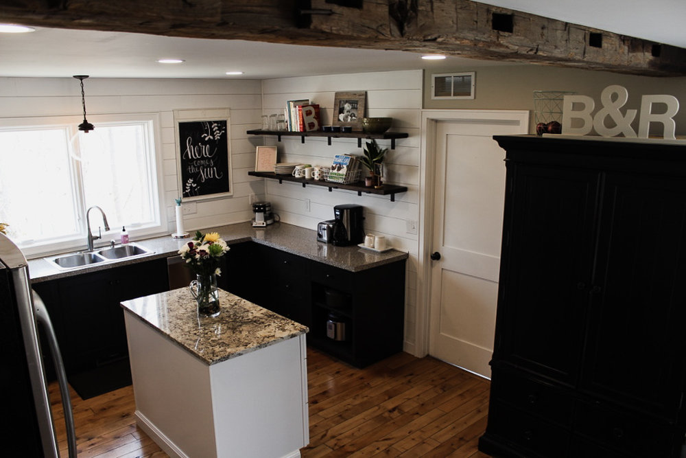 This Is What Our Kitchen Looks Like After The Remodel. U0026nbsp;A Cut Flower