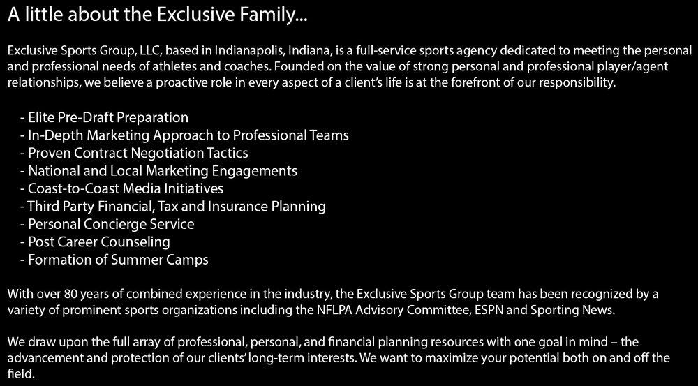 Esg family exclusive sports group llc twitterinstagram malvernweather Images