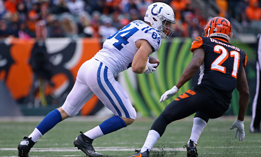 Bleacher Report: Colts' Jack Doyle is a top-5 TE