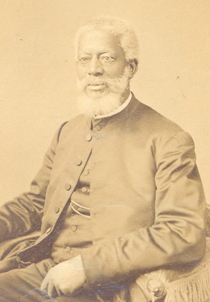 The Rev. Dr. Alexander Crummell, St. Mary's first Rector  (Archives of the Episcopal Church)
