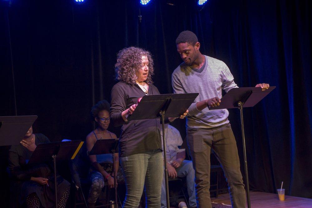 Gina Clayton, Christopher Allen
