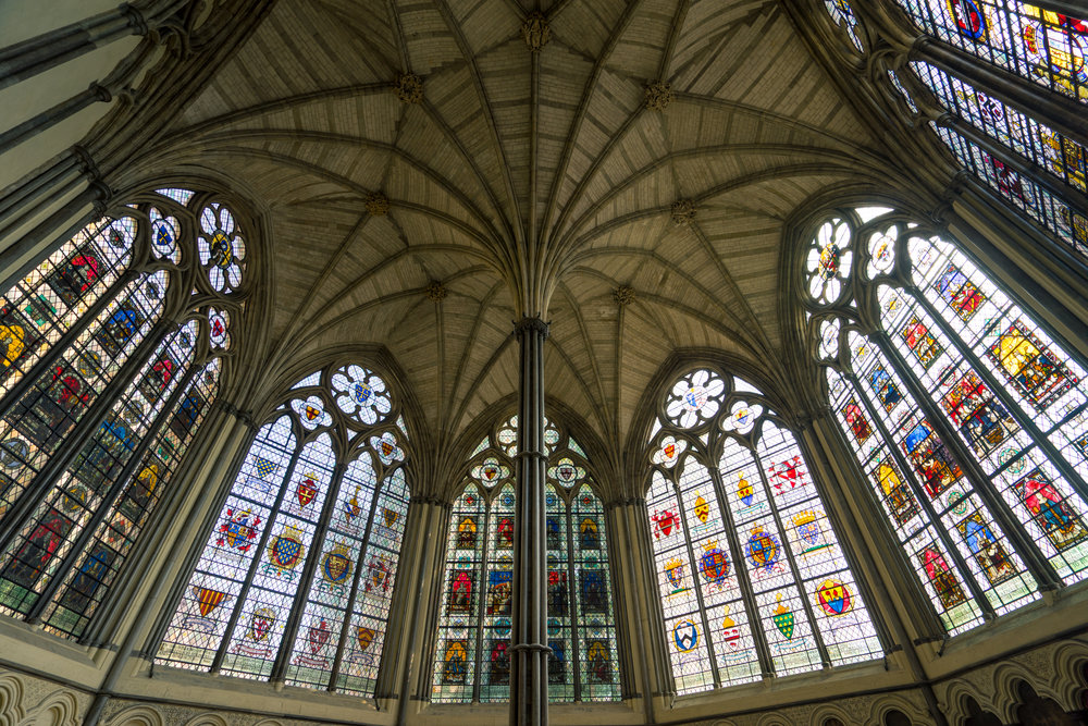Westminster's Stained Glass