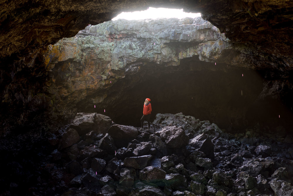 Indian Cave, Lava tube