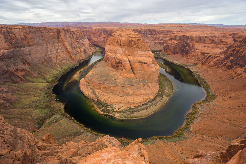 Horseshoe Bend, Colorado Rive, Located just outside of Paige, AZ