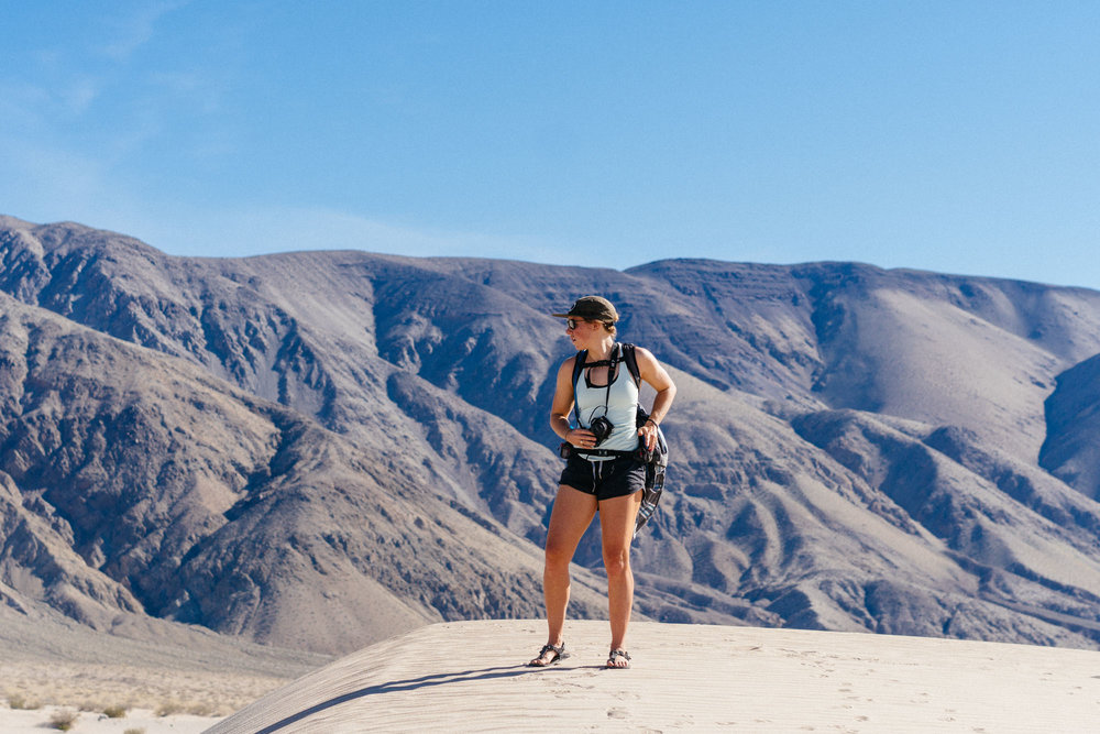 Panamint Dunes, Death Valley NP