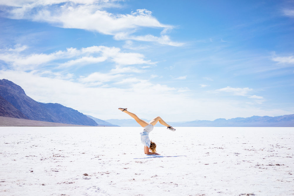MAK in Badwater Basin, Death Valley NP