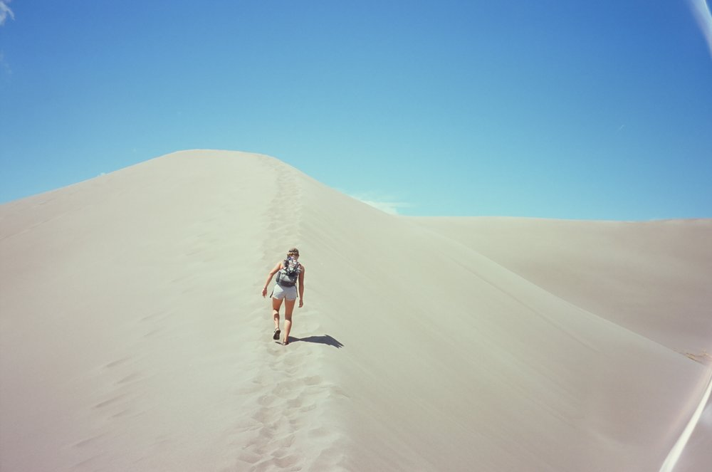MAK in the dunes, 35mm