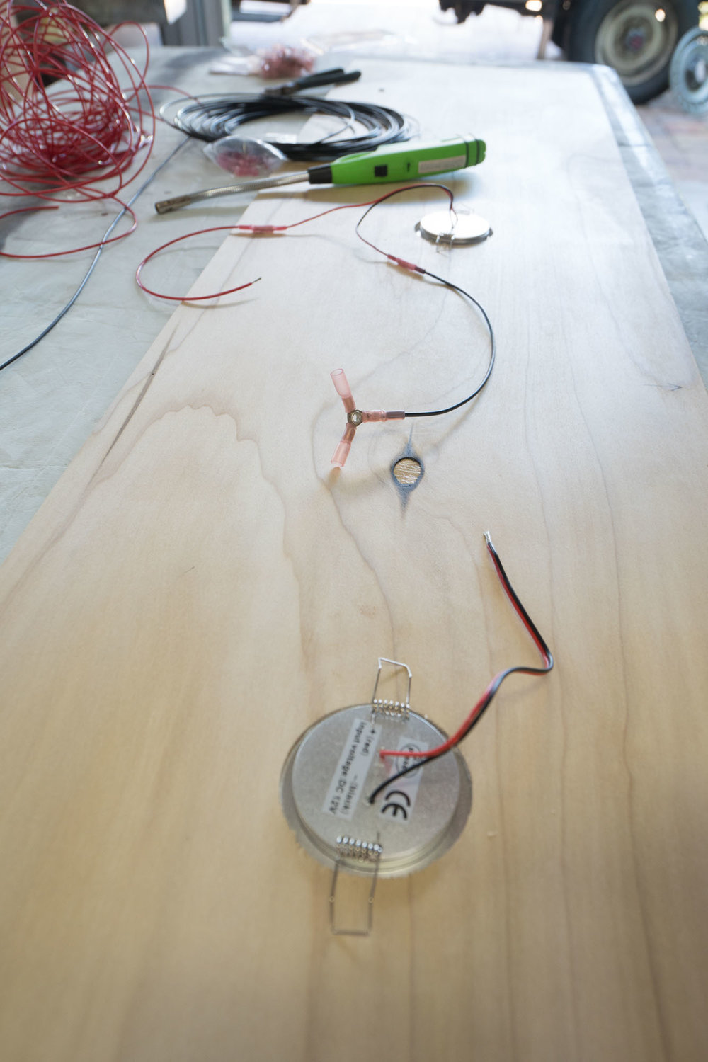 Wiring lights