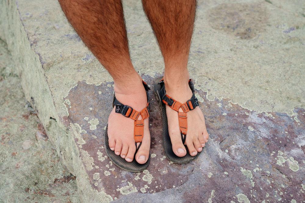 Owen's juicy foot view 1