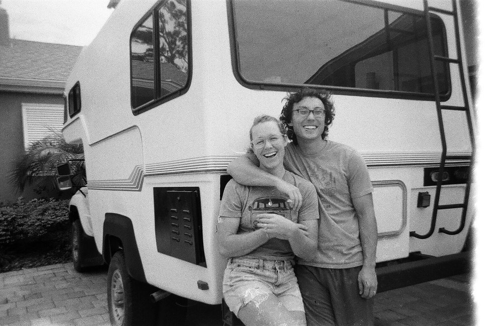 Photo Nick took of us while visiting in Orlando