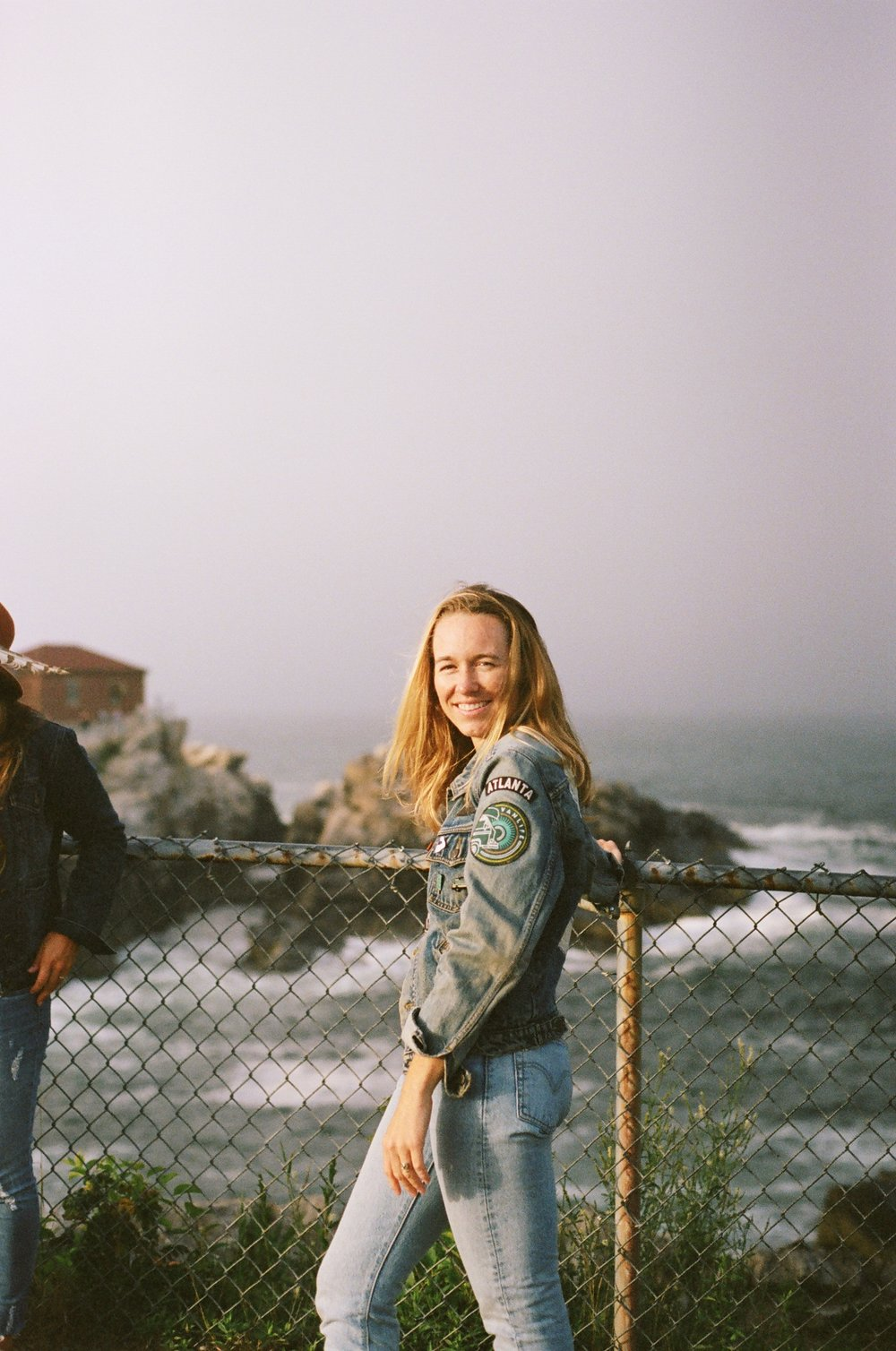 MAK at the Portland Head Lighthouse, 35mm film