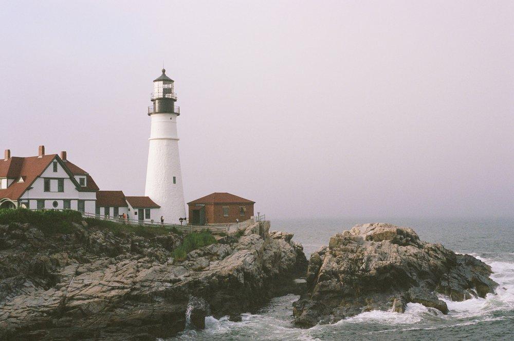 Portland Head Lighthouse, 35mm film