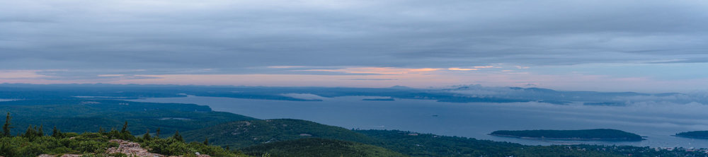Pano from Cadillac Mountain