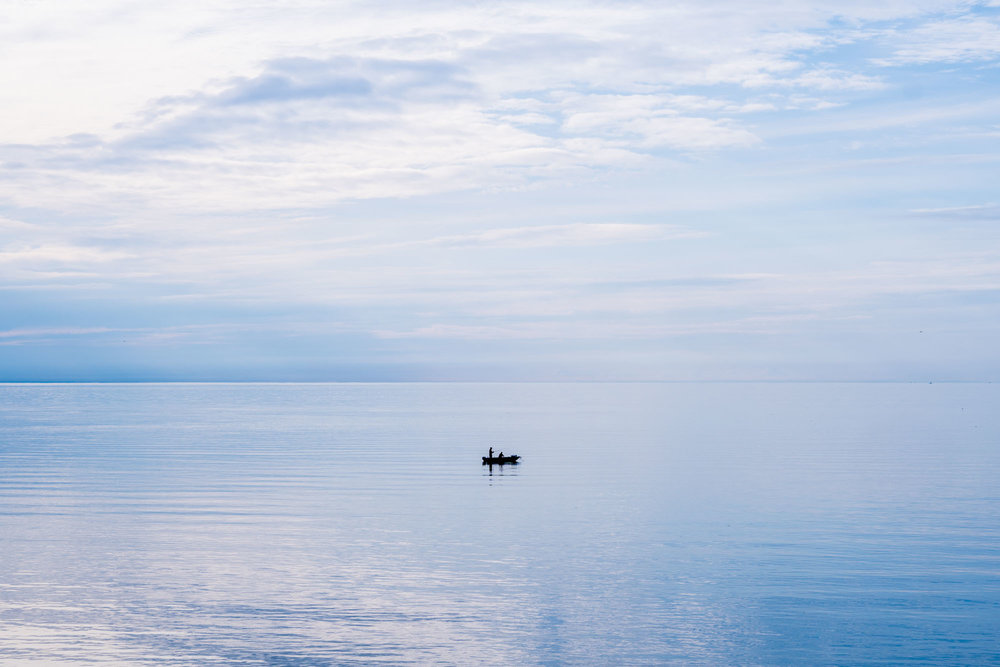 Fisherman in Digby, NS