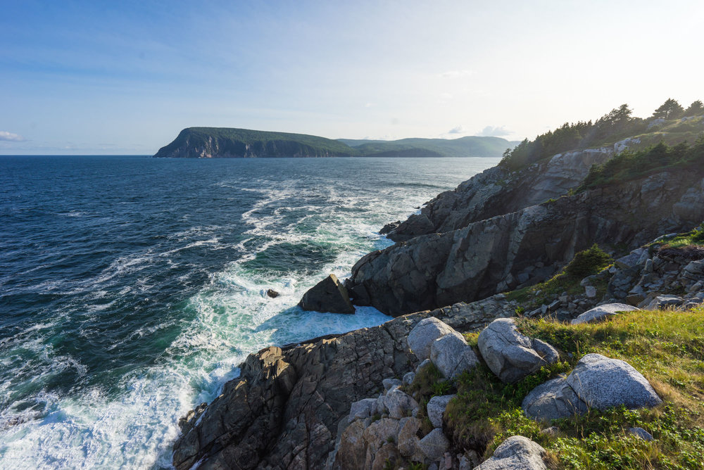 Atlantic ocean views, Middle Head Trail