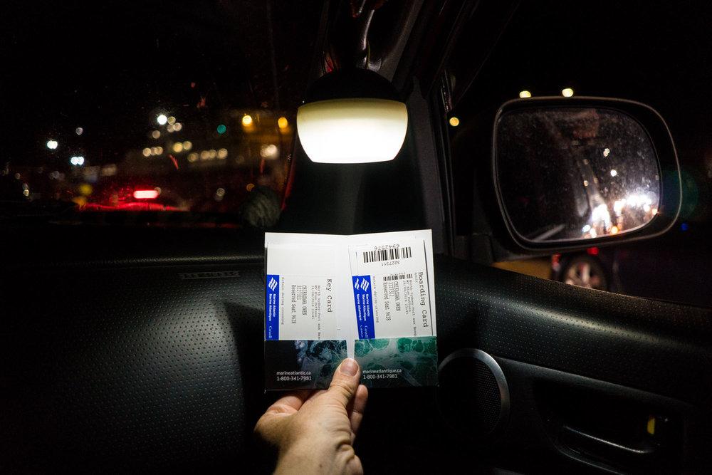 Two tickets to paradise (paradise = Newfoundland)