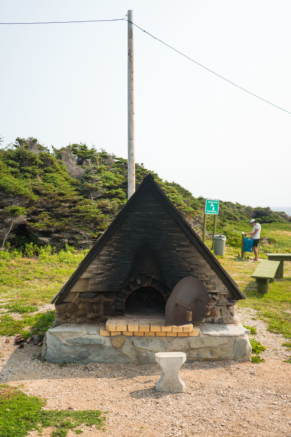 Bread ovens of Cape St. George