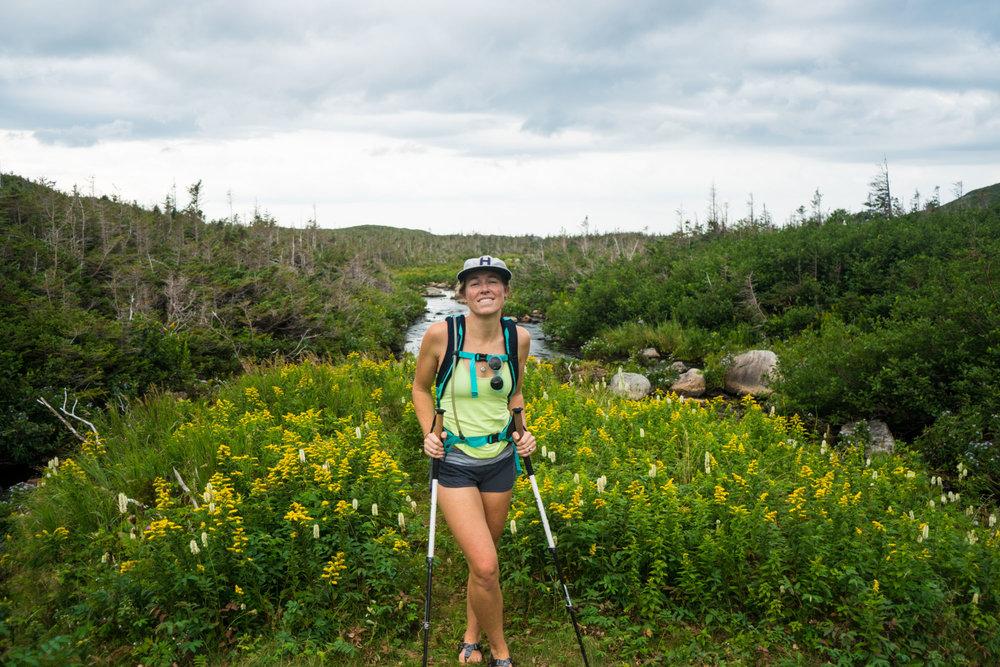 MAK on the Gros Morne Trail