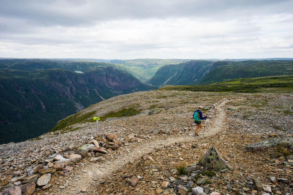 MAK heading towards the Long Range Mountains