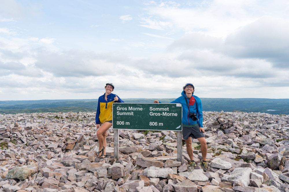 MAK & Owen at the summit