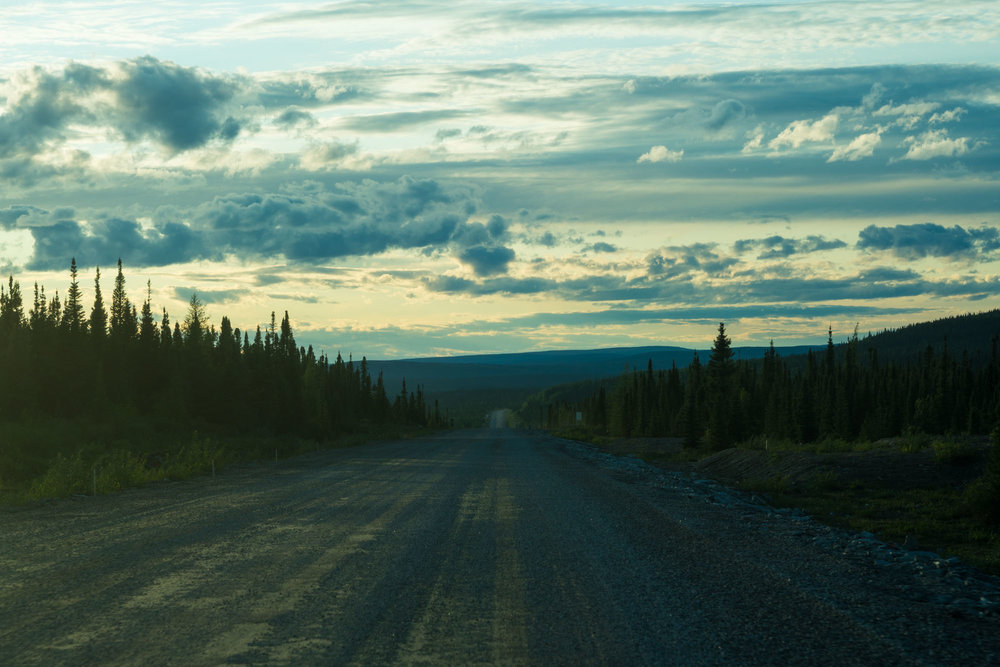 The many, many unpaved km of Trans Labrador HWY