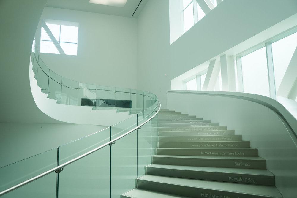 Inside the Musée national des beaux-arts du Québec
