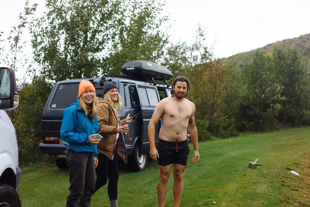 MAK, Katie, and Paul