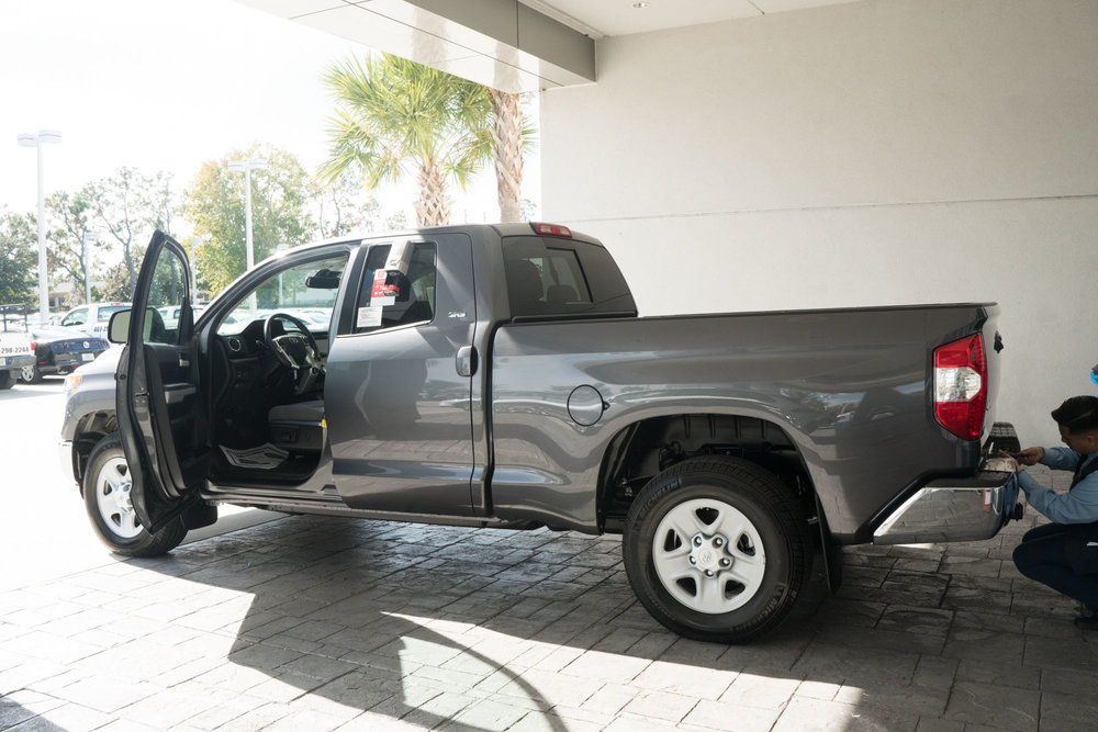 The new truck!