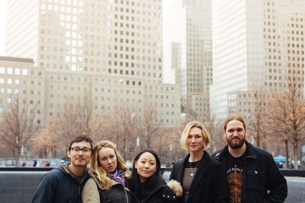 Owen, MAK, Morgan, Megan, and Mike in NYC