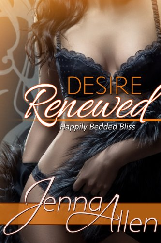 Desire Renewed - The daring lives of husbands and wives. Erotic romance novelist Cassie is frustrated. Ever since her books started coming out her husband has no interest in sex. With the help of a book of weekly fantasies she's trying to turn his head, but he seems unaffected. But Cassie will let nothing keep her from saving her marriage. Not the lack of a babysitter for date night, her own inhibitions, or Miss Perky Tits. Caveat - Listen up and keep your eyes open, the neighbors might be into anal play, BDSM & exhibitionism. You wouldn't want to miss it.