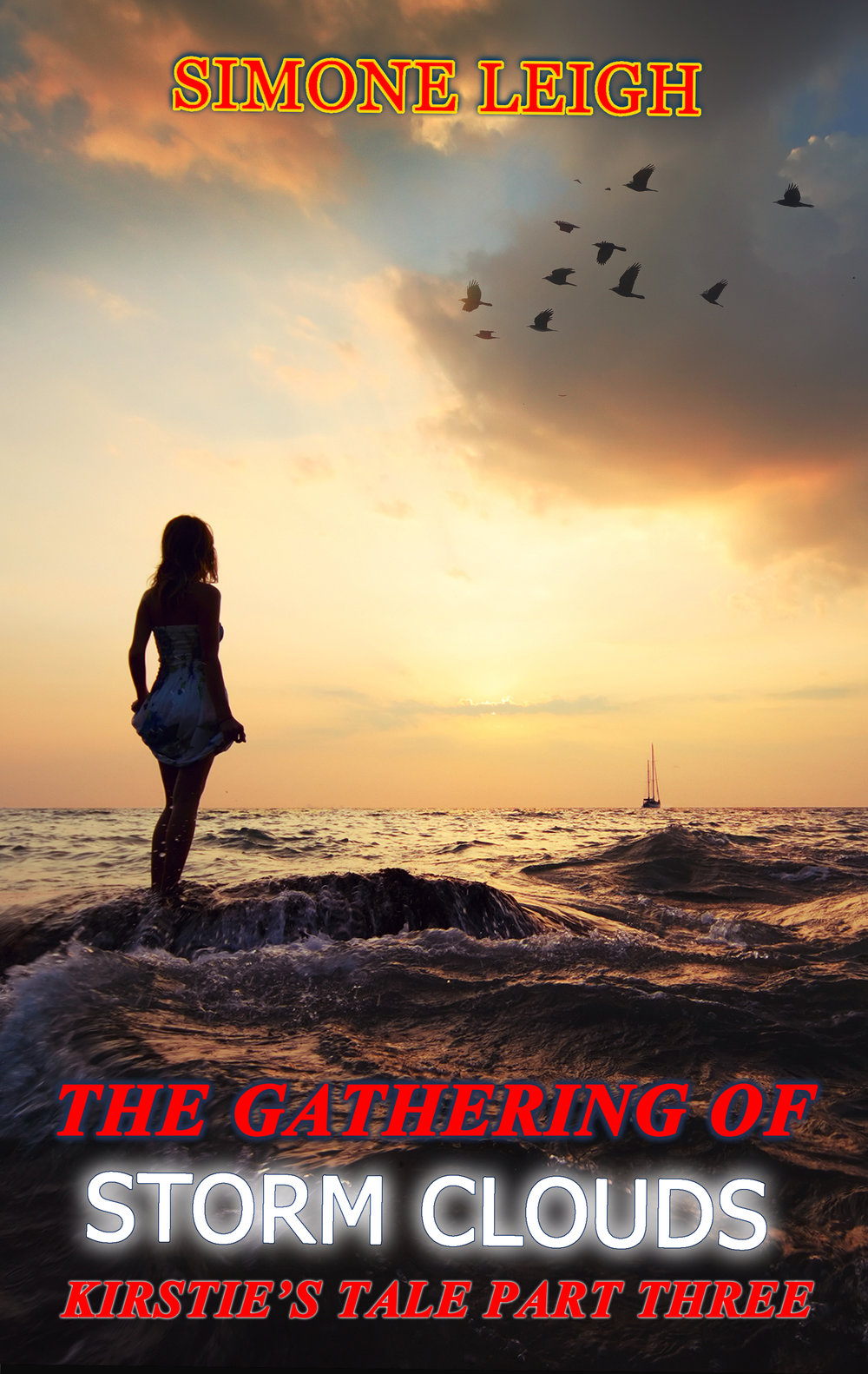 The Gathering of Storm clouds - Trapped Between Two MenKirstie has found a man who fulfills her, but she cannot find the way to distance herself from another.Meanwhile, jealousy, strife and misunderstanding strikes elsewhere in her life.A BDSM Erotic Romance.