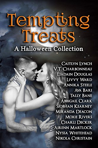 Tempting Treats - Curated by USA Today bestselling author Caitlyn Lynch, Tempting Treats is a collection of Halloween-themed stories from some of the best new voices in romance.Enjoy fifteen stories filled with masquerades, magic, and more. Ranging from sweet to sexy, this anthology will fill all your Halloween needs. You'll be seduced by Fae and succubi, vampires and shifters, witches and werewolves as you're swept away by the magic of Halloween!