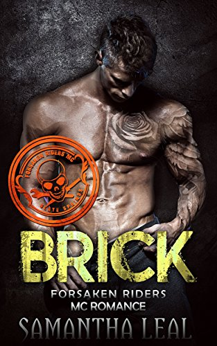 Brick - The small town of Slate Springs is hiding a wild and lawless secret... At the center of its quiet society is a ruthless motorcycle club, The Forsaken Riders. They are everything the straight laced town is not…wild, dangerous, full of themselves … and sexy as hell.Independent Jasmine knows what she wants out of life. She wants to keep the apartment she has worked hard for, the job she loves at a clothes store, and her close network of friends. But when she unexpectedly gets fired, she finds her world turned upside down. When she stumbles across the advert for a Babysitter, the last thing she ever thought would happen would be that she is thrust right into the center of the crazy world of The Forsaken Riders, the local bike gang that are bad to the bone and dangerous as hell. But when the man who employers her is Brick, one of the Forsakens' longest running members, Jasmine discovers that there is more to life than she ever could have imagined. Suddenly quiet doesn't exist, and neither does her need to be wild, young and free... She's falling hard and fast for Brick... A Daddy biker who is a rough, dangerous, outlaw who sparks her most forbidden desires in a way no one ever has.
