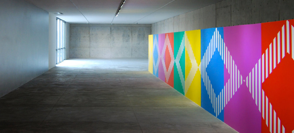 Two Rhythms For A Frieze  —  Daniel Buren