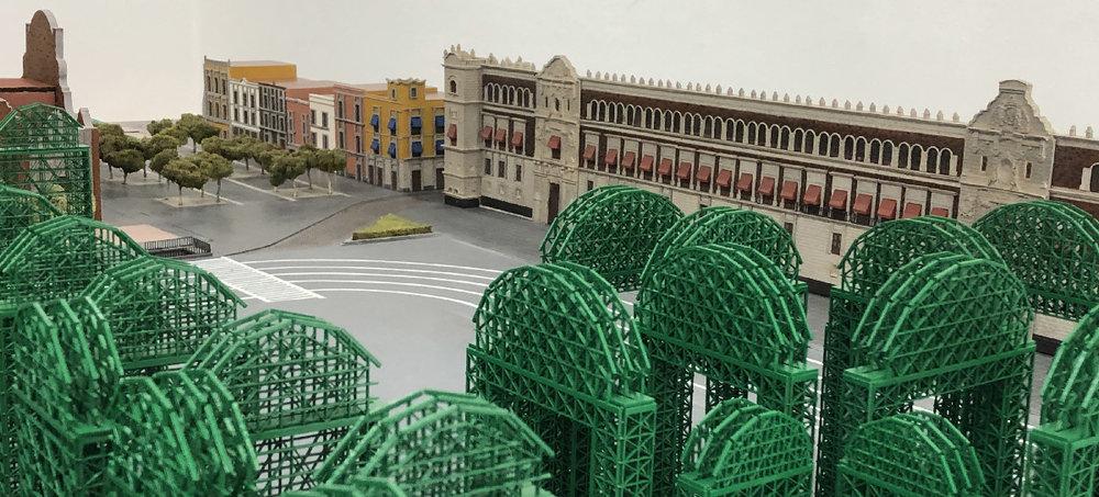 Una propuesta escultórica para el Zócalo de la Ciudad de México —  Pedro Lasch