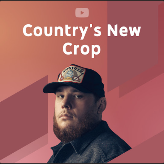 YouTube Music's Country's New Crop