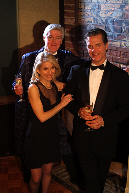 David Butler, Catherine Russell, and Richard Shoberg in Perfect Crime.