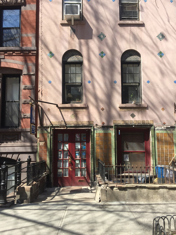 The Courtyard Playhouse, Greenwich Village -  Perfect Crime  first opened here on April 18th, 1987