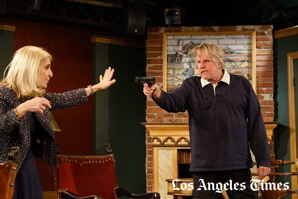Gary Busey on Gary Busey: A conversation about his first stage role   Read More...   - Los Angeles Times