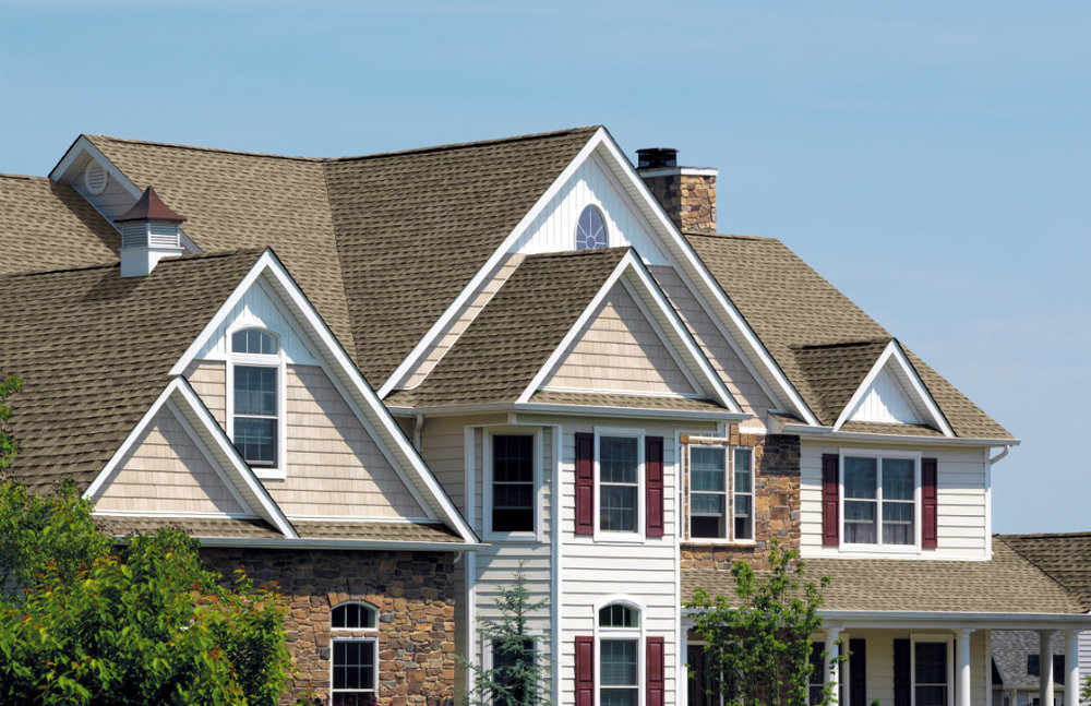 WEATHERWOOD HD   Weatherwood is a very popular color. Blending natural greys with a soft touch of other complimentary colors this shingles will strongly accent any home regardless of color platelet.