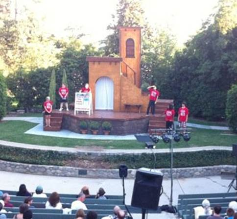 Stage Managing for Shakespeare By The Sea