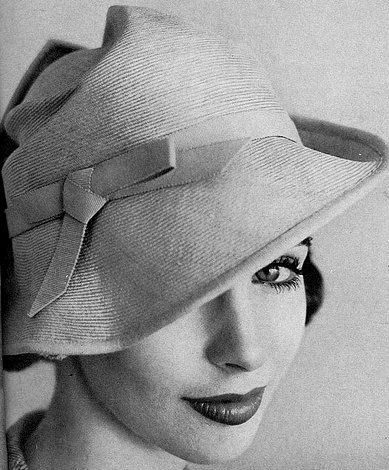straw cloche by Lilly Dache, photo by Richard Rutledge.jpg