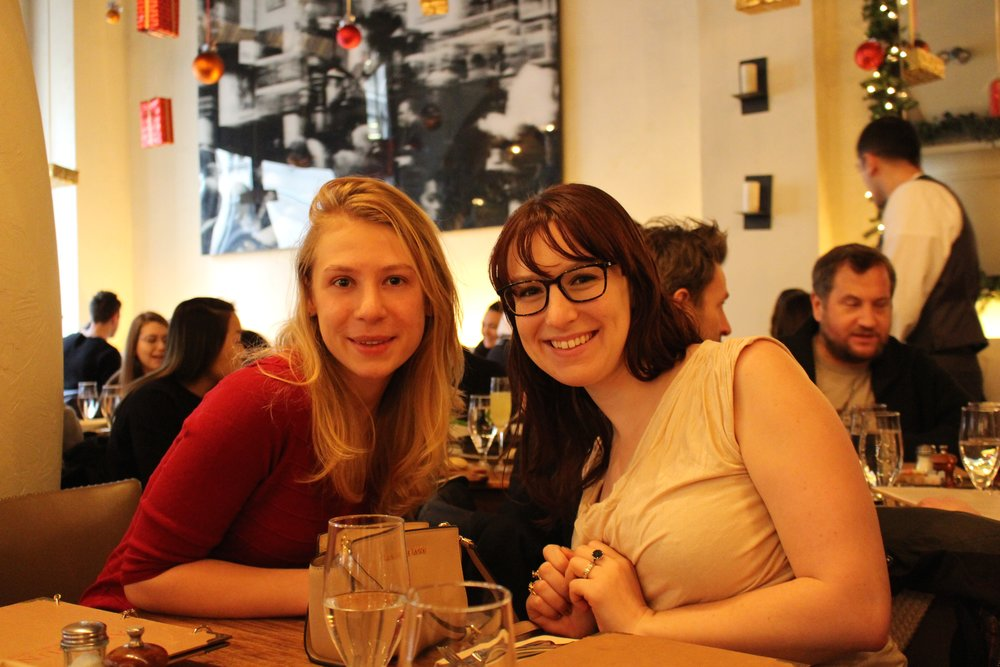 Photo from my second visit : )    Went back with my girlfriends - the bottomless champagne is too good to resist ;)