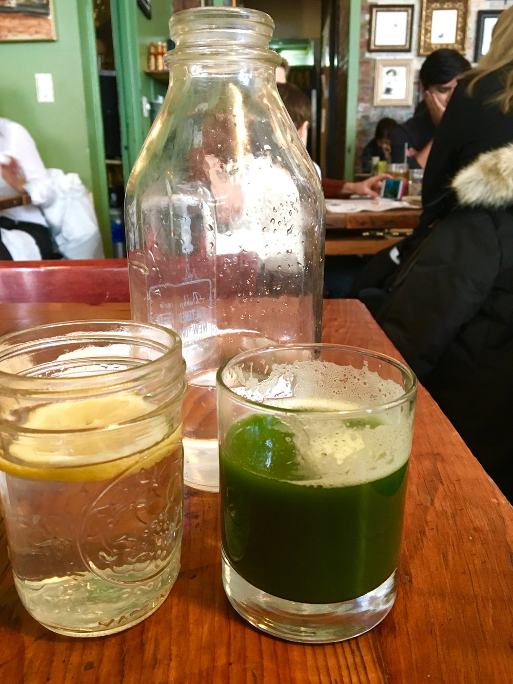 Green Kale juice